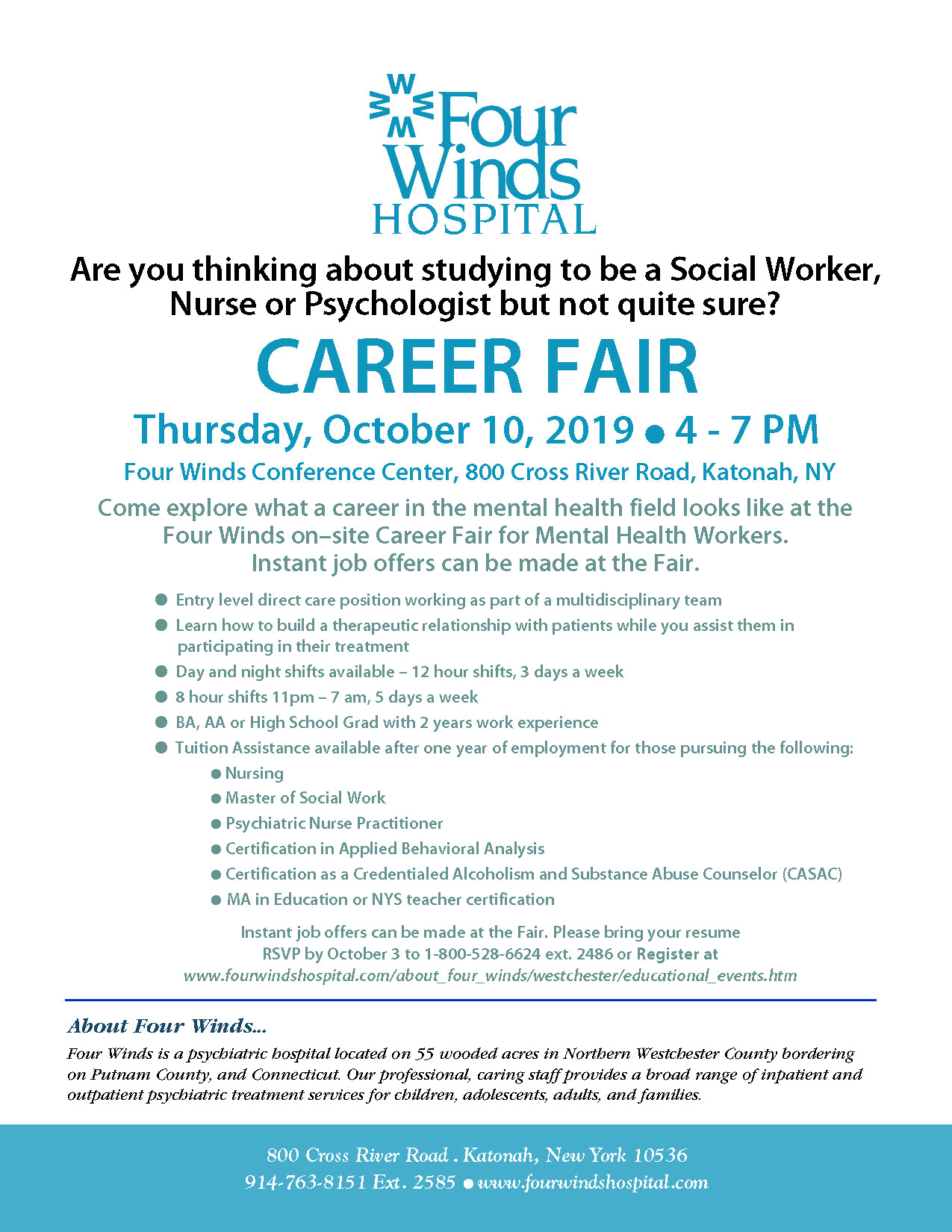 Four Winds Hospitals Westchester County