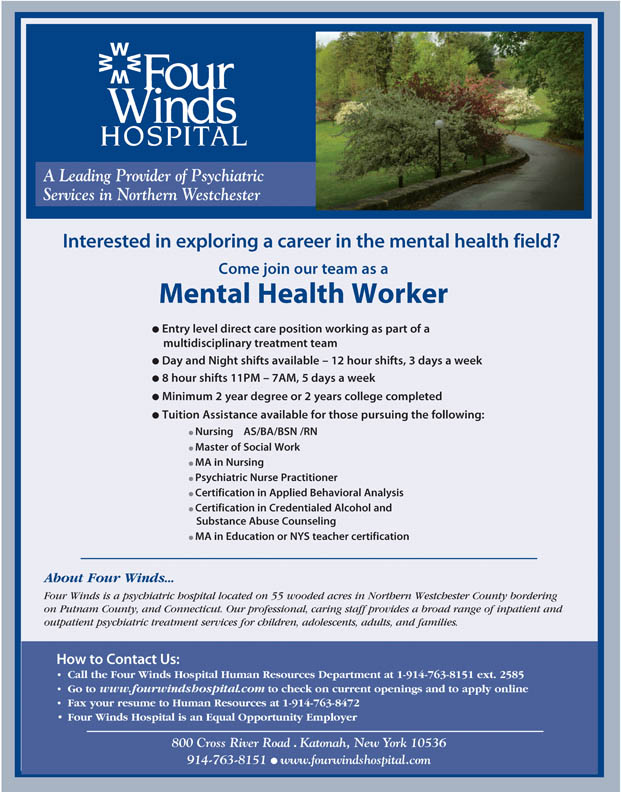 Employment At Four Winds Westchester